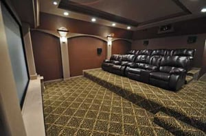 'Home Theater and Cinema Hall Carpets