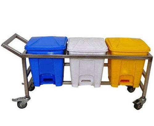 Bio Waste Hydraulic Trolley