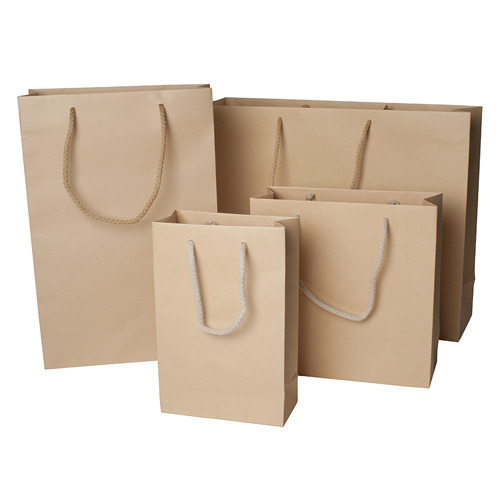 Brown Color Biodegradable Carry Bags