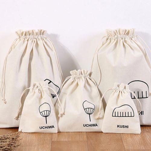 Cotton Drawstring Closer Bags