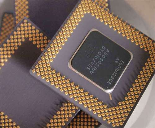 Scrap Ceramic Gold-Cap Cpu