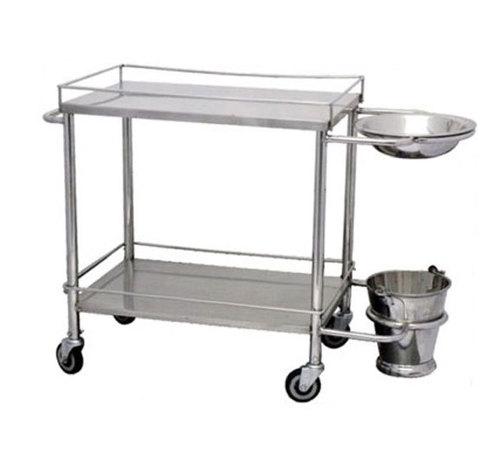 Stainless Steel Dressing Trolley