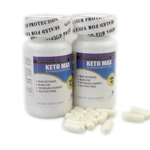 Weight Loss Pills Pure Keto Plus USA Diet Life Pills - Weight Loss Supplement MCT Capsules