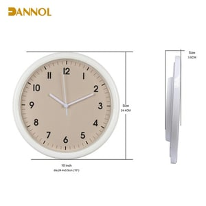 10 Inches Plastic Wall Clock