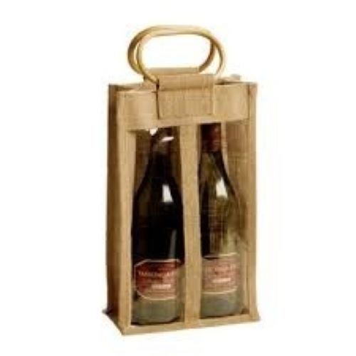 Finely Finished Jute Wine Bag