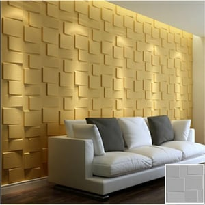 Smooth Finish 3D Wall Panel