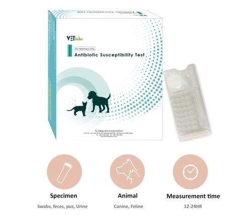 VETlabs Antibiotic Susceptibility Test Kit