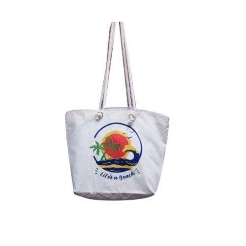 Customized Canvas Beach Bags