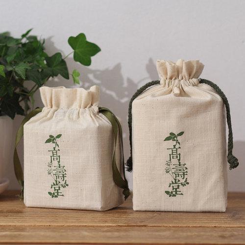 Eco Friendly Cotton Drawstring Bag