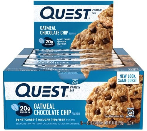 Quest Protein Energy Nutrition Bars