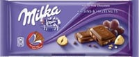 Raisins and Hazelnuts Chocolate Bar 100g