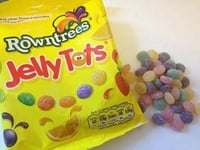 Rowntrees Coloured Jelly Tot Candies