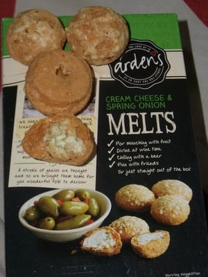 Ardens Cream Cheese & Spring Onion Melts 70g