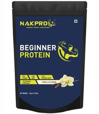 Nakpro Beginner's Protein With Added Digestive Enzymes And Vitamins Minerals - Vanilla