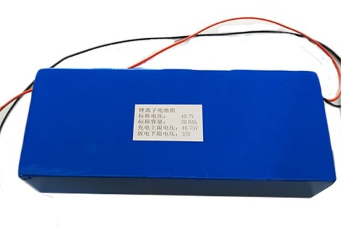 40V 20Ah Lithium Ion battery Pack Cover PVC