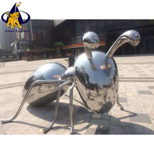 Stainless Steel Art Animal Sculptures