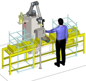 Dispensing and Vision Inspection Automation Solution