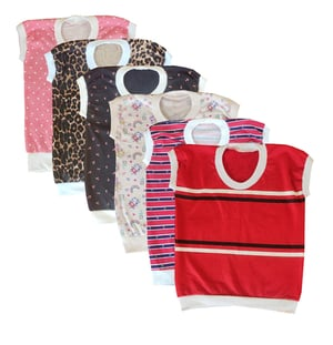 Knitted Cotton Baba Top - T-Shirt for Kids