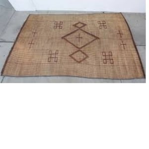 Woven Leather Mats For Floor