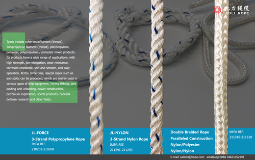 3 Strand Nylon Or Polyester Rope