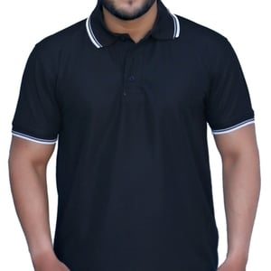 Premium Polyester Drifit Polo Neck T-shirt With Tipping