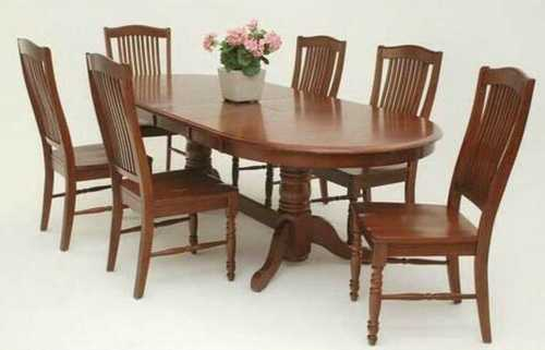 6 Seater Dining Table Sets No Assembly Required Price 12000 Inr Piece Id 6375107
