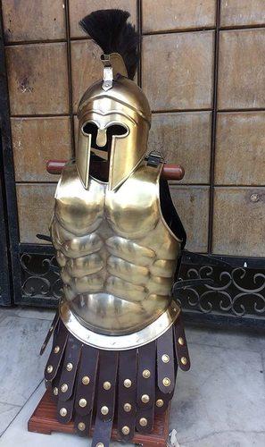 Metal Medieval Roman Greek Muscle Body Armor Cuirass