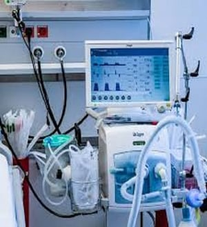 Y400A ICU Ventilator System with Spare Tubes