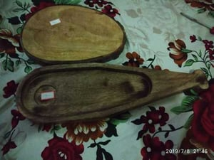 Beautifully Carved Wooden Cutting Board