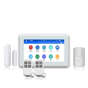 Full Screen 7 Inch Anti Theft Home Alarm System