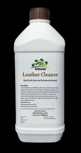 Uniwax Leather Dry Cleaner