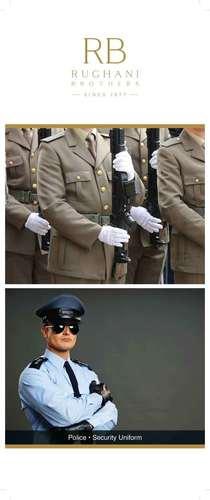 Police Uniform Fabric