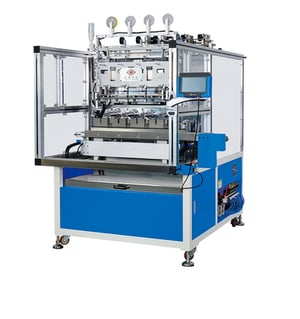 4 Spindle Automatic Taping, Stripping and Winding Machine