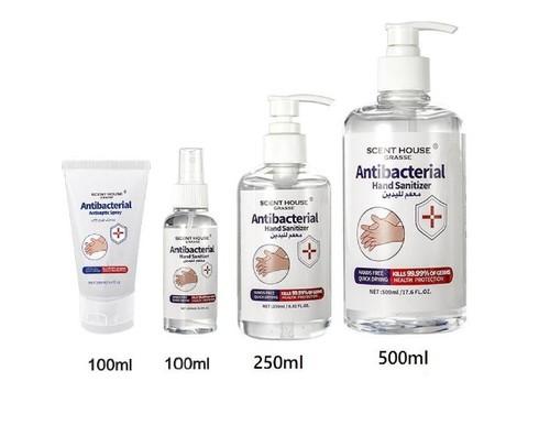 Anti-Bacterial Hand Sanitizer Gel