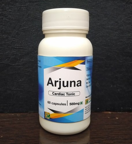Arjuna Cardiac Tonic 60 Capsules 500mg