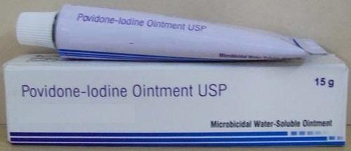Povidone Iodine Ointment 15 G