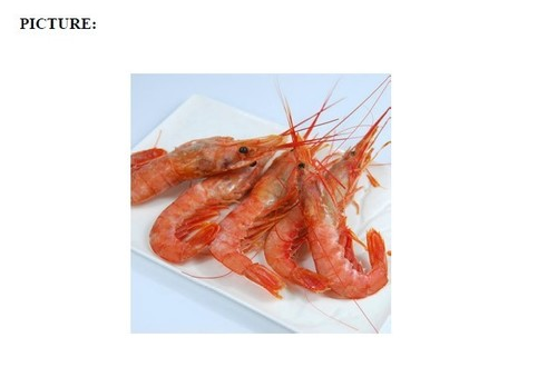Seafood Raw Frozen Red Shrimp