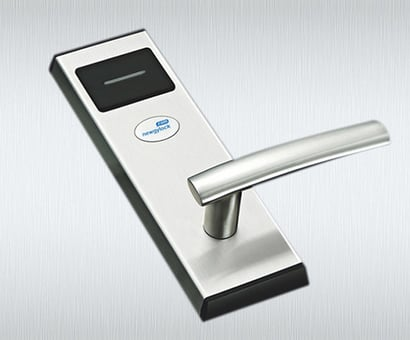 Excellent Stainless Steel Case Electronic Card Key Rfid Access Control Hotel Door Lock