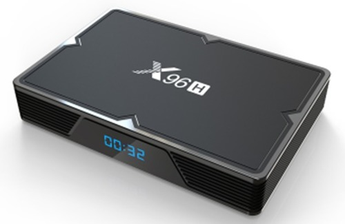X96h Quad Core H603 True 6k Android 9.0 Wifi Smart Tv Top Box