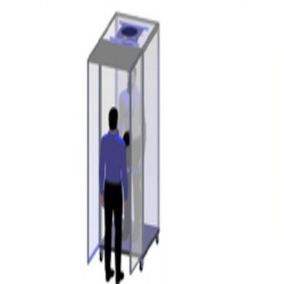 Booth-19-S Solar Powered Covid-19 Isolated Uv Booth Application: Sanitizing