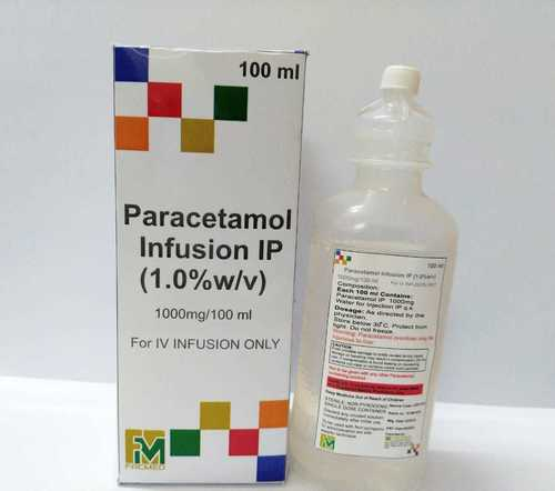 Paracetamol Infusion 100ml