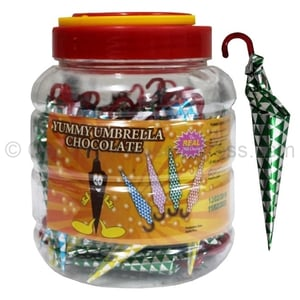 Umbrella Candy In Various Flavors
