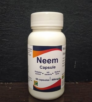 Highly Effective Neem Capsules 500mg