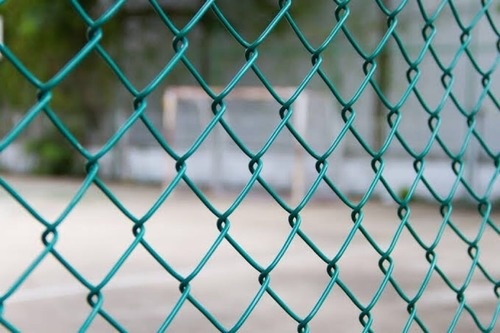 Pvc Coated Chain Link Fencing Application: Construction
