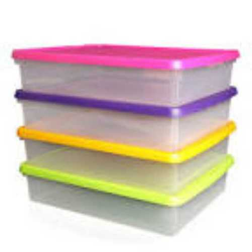 Custom Rectangle Shapes Solid Plastic Boxes