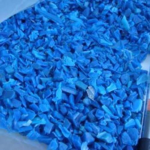HDPE Plastic Blue Drum Scrap