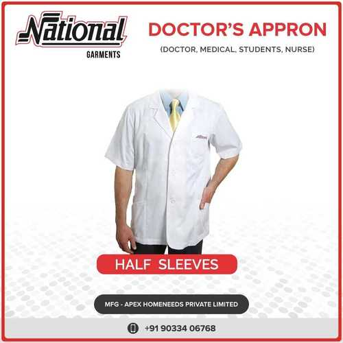 Half Sleeves Doctor Appron