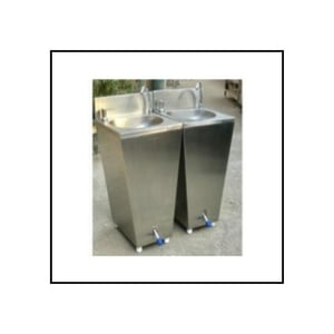 Portable Wash Basin with Foot Control