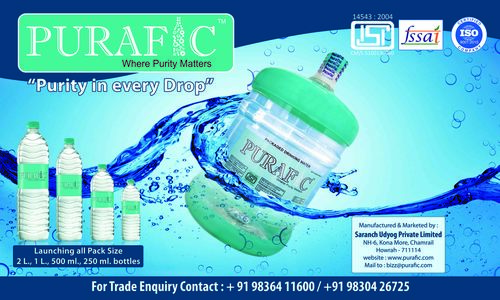 Purafic Packaged Drinking Water