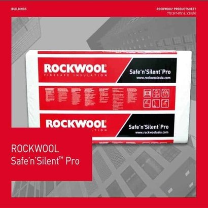 Grey Thermal Insulation Safe N Silent Pro